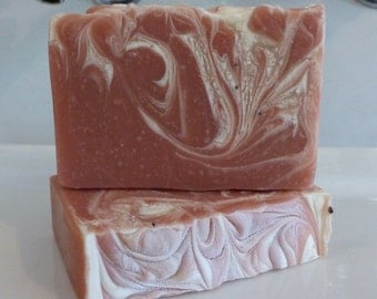 Cranberry Soap Olive oil Soap bar (Vegan)/Cold Process/Shea Butter/Homemade Soap/Handmade/CP Soap
