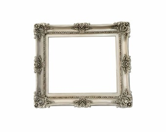 20x24 Large Picture Frame - Shabby Chic Frame - Ornate Wall Mirror - Wedding Gift