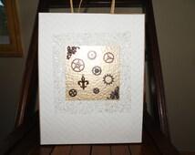 Large Groomsmen Gift Bag - Steampunk Design