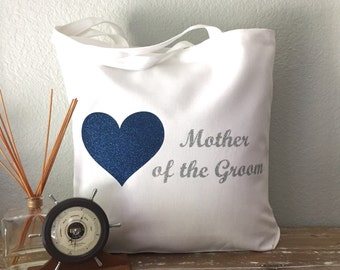 Mother of the Groom Tote Bag! Customize the colors!