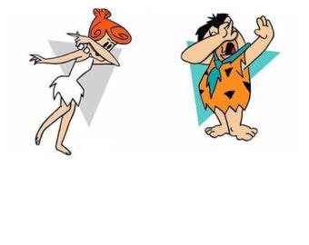 Wilma & Fred Dabbin' Tee
