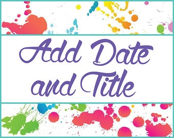 Add Date and Title