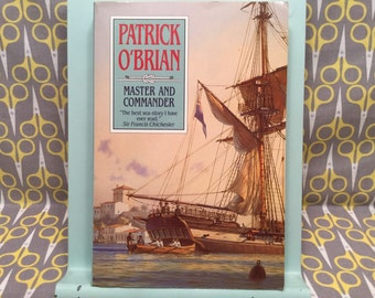 Master and Commander by Patrick O'Brian paperback book classic novel story of the sea Classic Literature Book