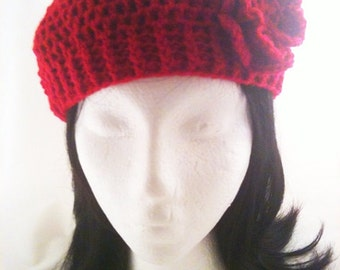 Crochet Pattern for The Ultimate Beret (0022) - Size Teen to Adult - Permission to Sell Finished Products