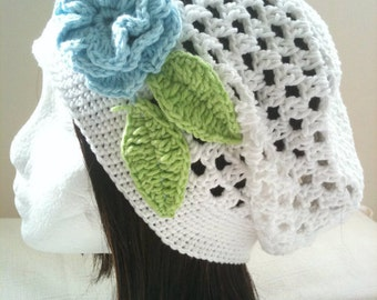 Crochet Pattern: Slouchy Hat (0016) - Permission to Sell Finished Products