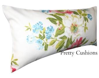 Prestigious Textiles Rosabella Floral Rose Bolster Cushion Cover