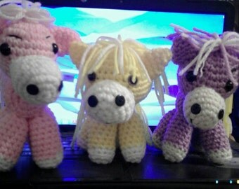 Little Rainbow Pony's