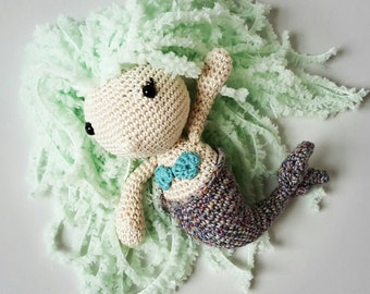 Handmade Crochet Mermaid Plush