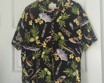 Aloha Oversize Button down