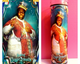 Biggie Smalls prayer candle