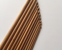 Brand New 12 pcs Double Ended Tunisian Crochet Hook! Sizes 3.0 to 10.0mm crochet hooks supplies tools