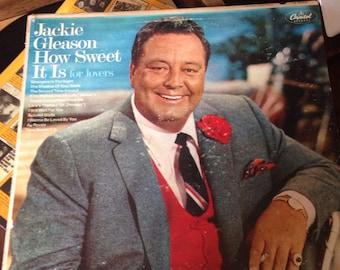 Jackie Gleason How Seeet It Is For Lovers 1960's Vinyl Record Album