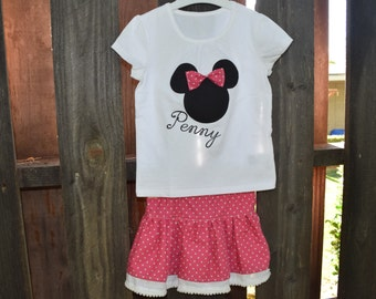 Customizable Minnie Mouse Outfit