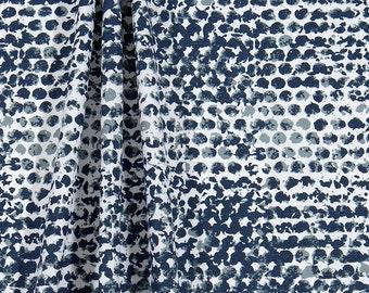 Indigo  Panel Curtain. Zoey Vintage Indigo  Panel Curtain. Taupe  Window curtain. Cotton.unlined.Designers pattern.Choose  your sizes