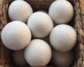 Wool Dryer Balls Extra Large Woolies: laundry, softener, dryer balls, essential oils, eco friendly, organic living,New Zealand Wool