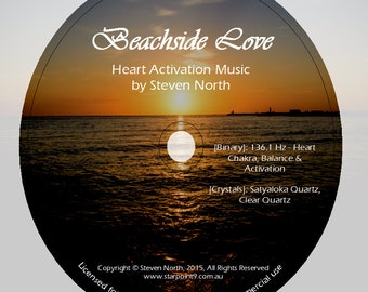 Beachside Love - Heart Activation Binary Frequency CD