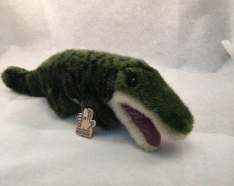 Alligator Plush Applause Bravo, 18 inches 1988