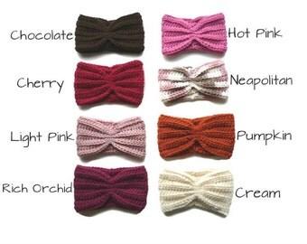 Crochet Headband // Crochet Headwrap // Crochet Earwarmer