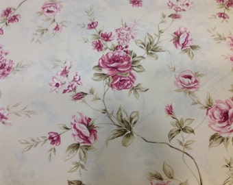 Shabby flowers fabric