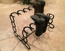 Popular items for western decor on etsy for Things to make with old horseshoes