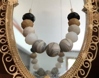 Muted Marble Necklace