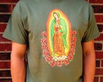 Our Lady of Gudalupe Catholic Tshirt