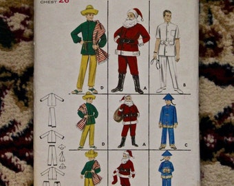 Vintage 1960s Butterick costume pattern 3352 child size 6-8 new uncut