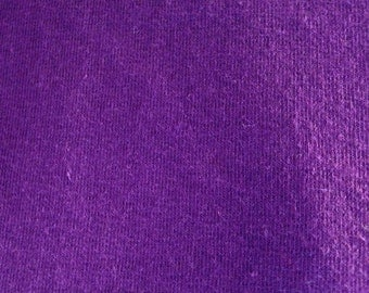 Purple 4-way stretch Cotton Lycra Fabric-By-The-Yard