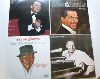 4 Frank Sinatra LPS - Greatest Hits Vol II, The Midnight Strings and 2 more