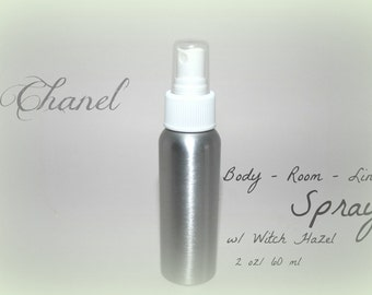 Chanel Scented Body Mist - Room Spray - Linen Spray *2 Ounce*