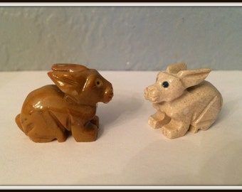 Rabbit Spirit Animal ~ Altar Accessory ~ Spell Aid ~ Familiar ~ Dolomite Statue ~ Wicca ~ Witch ~ Pagan ~ Agility ~ Attraction ~Totem Animal