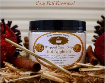 Hot Apple Pie Whipped Cream Soap