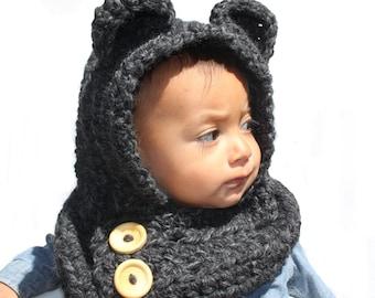 "Bear ""Oso"" Hood *on sale*"