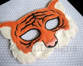 ITH Tiger Mask Machine Embroidery Design Pattern Download 5x7 6x10 In The Hoop Costume Halloween Quality DIY Dress up