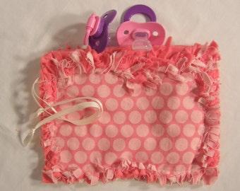 Pacifier Bag, Binky Bag, Pacifier Pouch, Paci Holder, Tooth Fairy Pouch, Baby Binky, Tooth Fairy Box, Baby Binkie, Binky Holder