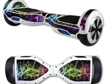 Skin Decal Wrap for Self Balancing Scooter Hoverboard unicycle Neon