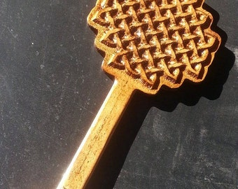 Celtic weave series, 3D paddle