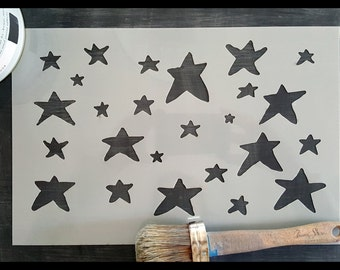 My Little Star Reusable Stencil