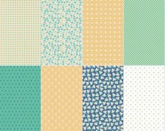 NEW - Calico Fat Eighth Panel Pack from Riley Blake Designs by Lori Holt