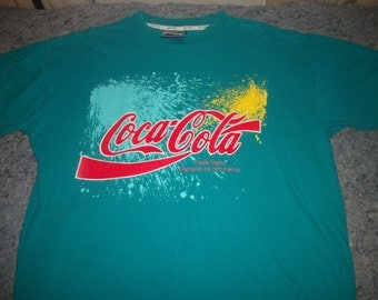 COCA COLA shirt 1995? Very clean!
