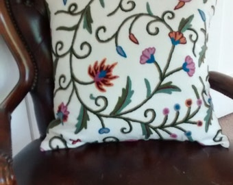 Crewel Work Cushion
