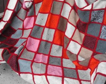 mano3-made wool blanket/blanket wool handmade