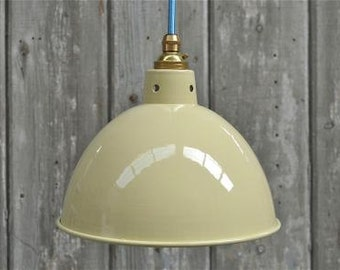 Retro style cream ceiling light shade retro hanging pendant lamp SC2G3