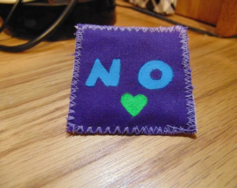 No Patch | Feminist Patch | No Catcalling Patch