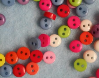 Tiny Buttons Set of 75