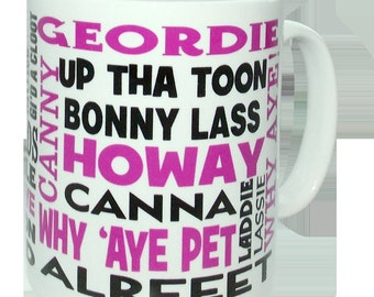 Geordie Dialect Mug
