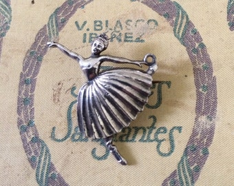 Vintage Ballerina Brooch and Pendant