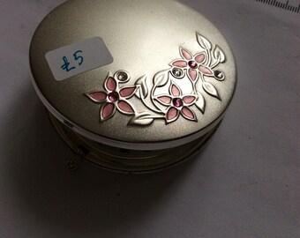 Vintage handbag mirror / compact