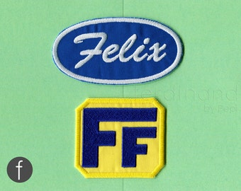 fix-It felix, Jr. Cosplay Costume Embroidered Iron On Patch Set