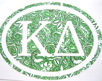 Kappa Delta Sticker Decal Sorority - Great Initiation, Bid Day or Big Little Gift!